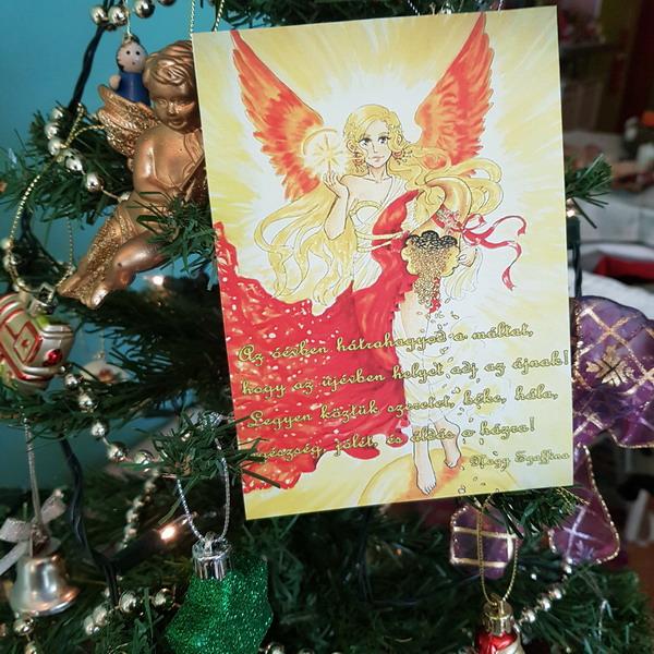 Angyali képeslapok Az Óévben hátrahagyod a múltat Nagy Szaffina életművei weboldalon