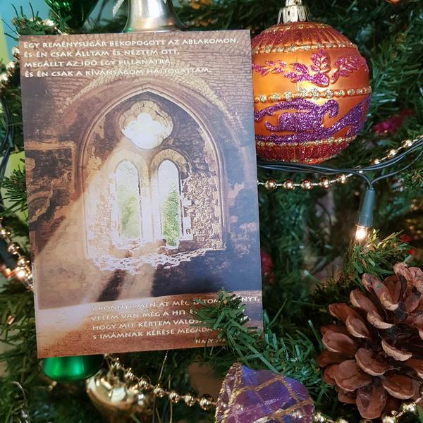 Angyali képeslapok Egy reménysugár bekopogott az ablakon Nagy Szaffina életművei weboldalon