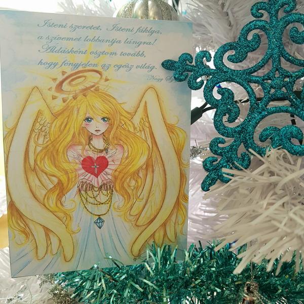 Angyali képeslapok Isteni Szeretet Nagy Szaffina életművei weboldalon