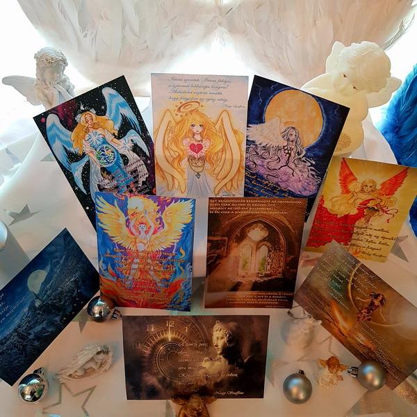 Angyali képeslapok Nagy Szaffina életművei weboldalon