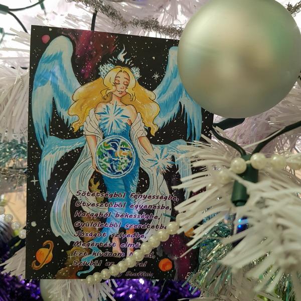 Angyali képeslapok Sötétségből fényességbe Nagy Szaffina életművei weboldalon