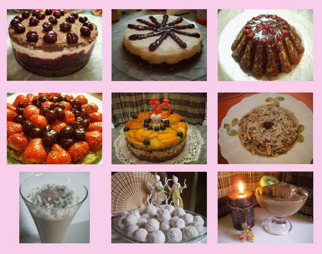 Gyors Egyszeru Nyers Vegán ételek 2. kötet. Pudingok, sütemények, torták, desszertek, nyers lekvárok.